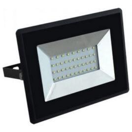 V-TAC LED Προβολέας E-Series SMD 30W Μαύρος Ψυχρό Λευκό 5954