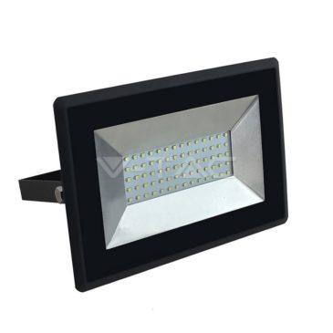 V-TAC LED Προβολέας E-Series SMD 50W Μαύρος Ψυχρό Λευκό 5960