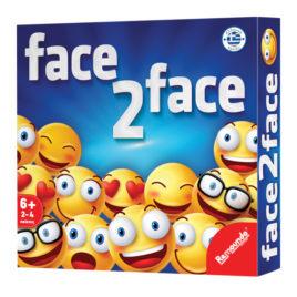 FACE TO FACE ΕΠΙΤΡΑΠΕΖΙΟ 25x25cm ToyMarkt 891435 (69-1415)