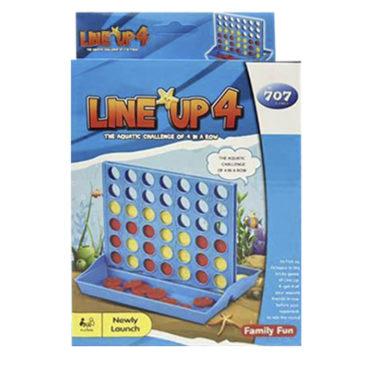 ΕΠΙΤΡΑΠΕΖΙΟ LINE UP 4 ΜΙΚΡΟ 15x23cm ToyMarkt 891578 (69-1558)