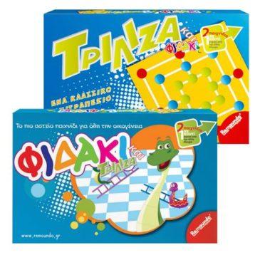 ΦΙΔΑΚΙ ΤΡΙΛΙΖΑ   2 ΣΕ 1 40x26cm ToyMarkt 89333 (69-313)