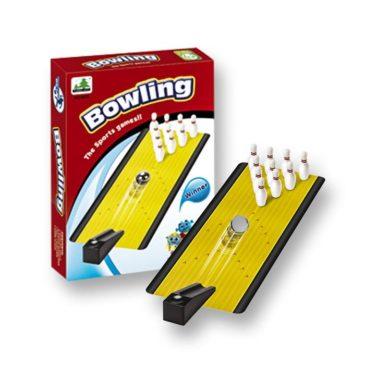 ΕΠΙΤΡΑΠΕΖΙΟ ΜΙΝΙ BOWLING 14x20cm ToyMarkt 89712 (69-692)