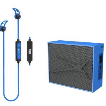 ALTEC LANSING Earphone & speaker, bluetooth 4.1, 10m, 2W RMS, μπλε (AL-BDM614-BL)