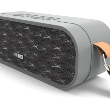 ALTEC LANSING φορητό ηχείο Melody 20W, αδιάβροχο, power bank, γκρι (AL-BT4017S-GR)
