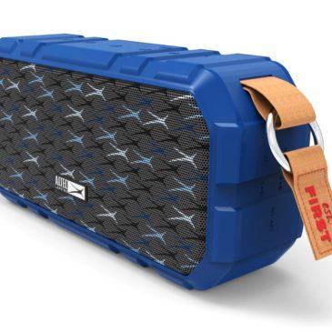 ALTEC LANSING φορητό ηχείο X-Wild 10W, αδιάβροχο, power bank, μπλε (AL-BT6010-BL)