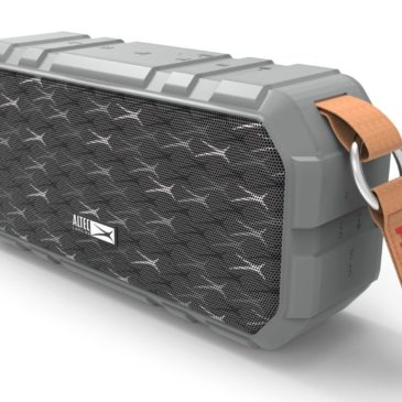 ALTEC LANSING φορητό ηχείο X-Wild 10W, αδιάβροχο, power bank, γκρι (AL-BT6010-GR)