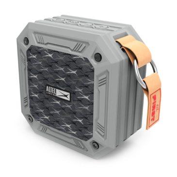 ALTEC LANSING φορητό ηχείο Wild, αδιάβροχο IP67/αντικραδασμικό, BT, γκρι (AL-BTS5021-GR)