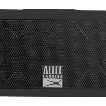 ALTEC LANSING φορητό ηχείο Jacket H2O, IP67, αντικραδασμικό, μαύρο (AL-IMW457-BK)
