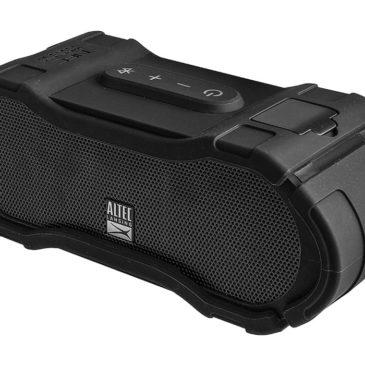 ALTEC LANSING φορητό ηχείο Boomjacket, IP67, power bank, NFC, μαύρο (AL-IMW576-BK)