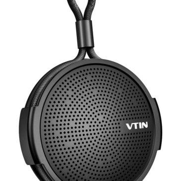 VTIN φορητό ηχείο VNBH221AC, bluetooth, IPX5, 4W, 1000mAh, μαύρο (VNBH221AC)