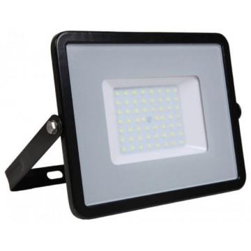LED  Προβολέας V-TAC 50W Μαύρος SMD SAMSUNG Chip High Lumen 120LM/W Ψυχρό Λευκό 5 Χρόνια Εγγύηση 761