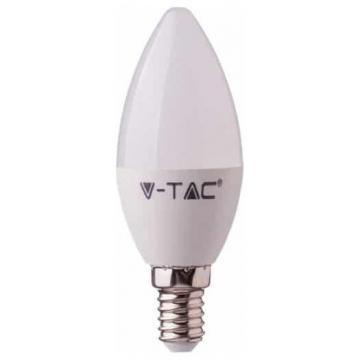 LED V-TAC Έξυπνη Λάμπα Ε14 Κεράκι 4.5W RGB + Θερμό και Ψυχρό Λευκό Dimmable Συμβατή με Amazon Alexa και Google Home 2754 (2754)