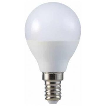 LED V-TAC Έξυπνη Λάμπα Ε14 P45 4.5W RGB + Θερμό και Ψυχρό Λευκό Dimmable Συμβατή με Amazon Alexa και Google Home 2756 (2756)