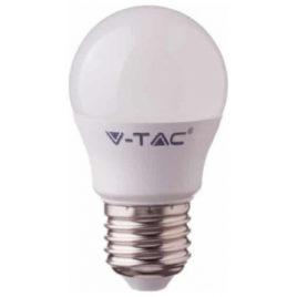 LED V-TAC Έξυπνη Λάμπα Ε27 G45 4.5W RGB + Θερμό και Ψυχρό Λευκό Dimmable Συμβατή με Amazon Alexa και Google Home 2755 (2755)
