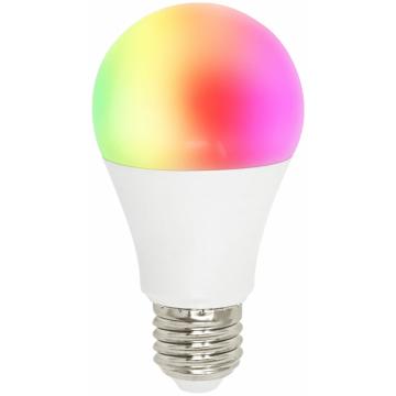 LED V-TAC Έξυπνη Λάμπα Ε27 A60 10W RGB + Θερμό και Ψυχρό Λευκό Dimmable Συμβατή με Amazon Alexa και Google Home 2751 (2751)