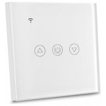 V-TAC Έξυπνο EU WIFI Dimmer με Διακόπτη Αφής Λευκό  Συμβατό με Amazon Alexa και Google Home (8433)