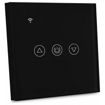 V-TAC Έξυπνο EU WIFI Dimmer με Διακόπτη Αφής Μαύρο Συμβατό με Amazon Alexa και Google Home (8432)