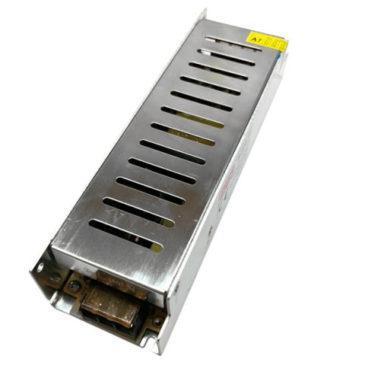 LED Τροφοδοτικό Slim Series DC 200W 12V 16.5 Ampere IP20 GloboStar 03004