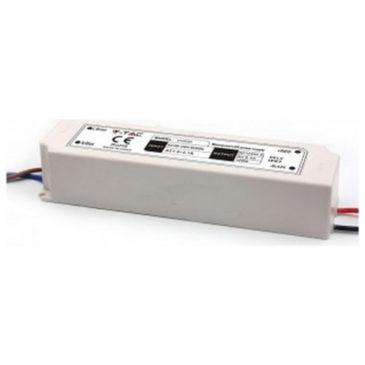 Τροφοδοτικό Αδιάβροχο Πλαστικό IP67 για LED 100W 8A 12V 3236