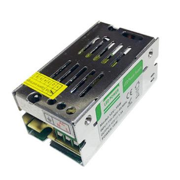 LED Τροφοδοτικό DC 15W 12V 1.25 Ampere IP20 GloboStar 74550