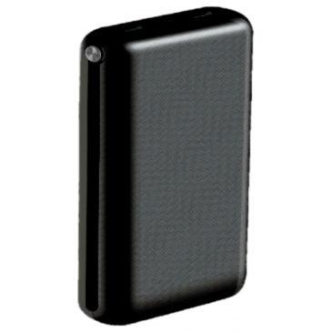 Φορτιστής Μπαταριά Jumbo Power Bank 30000mAh με δύο Θύρες USB, micro USB & Type C Χρώμα Μαύρο 8901