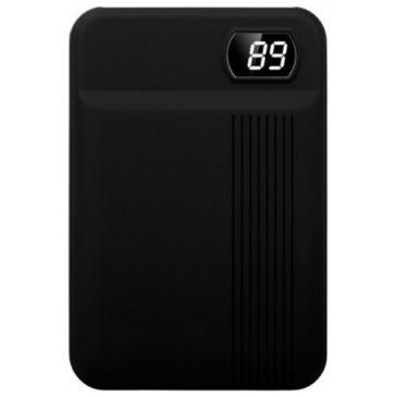 Φορτιστής Μπαταριά Power Bank 10000mAh με οθόνη και δύο Θύρες USB Χρώμα Μαύρο 8850