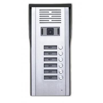 Κάμερα Θυροτηλεόρασης 6 Πλήκτρων CRL-618-6AV (T-11552)