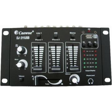 ΜΙΚΤΗΣ ΗΧΟΥ DJ-211USB(T-8124)