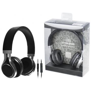 Ακουστικά κεφαλής Χρώμα Μαύρο EM-EP16(T-35813)