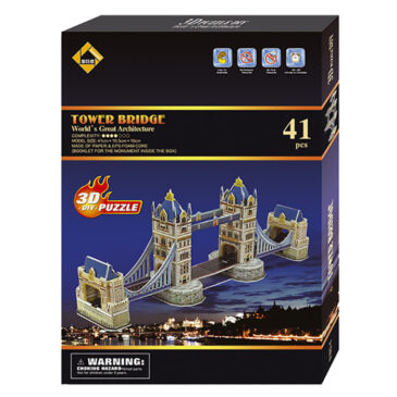 ΠΑΖΛ 3D TOWER BRIDGE 22x30cm 69-496
