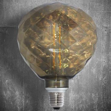 LED VINTAGE DIM EL827905 4W E14 DIM 2700k 400lm 125*140 (EL825109)