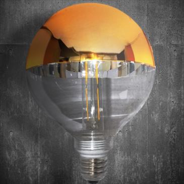 LED VINTAGE DIM EL827905 4W E14 DIM 2700k 400lm 125*140 (EL825111)