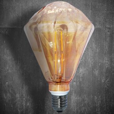 LED VINTAGE DIM EL827905 4W E14 DIM 2700k 400lm 125*140 (EL825120)