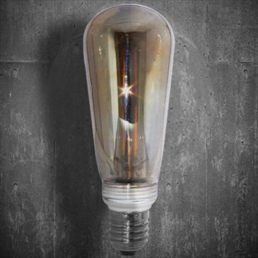 LED VINTAGE DIM EL827905 4W E14 DIM 2700k 400lm 60*125 (EL825125)