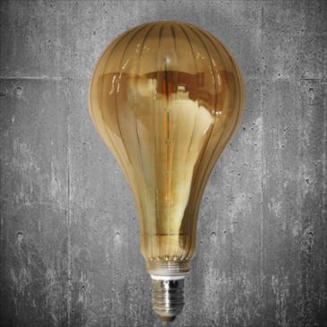 LED VINTAGE DIM EL827907 6W E27 DIM 2700k 450lm 165*268 (EL825301)