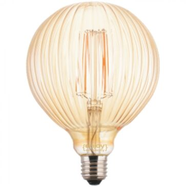 LED FILLAMENT VintageGlass G125*175 5.5W E27 2200k 550lm (EL822002)