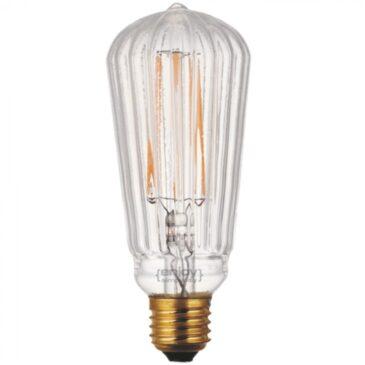 LED FILLAMENT VintageGlass ST60*160 5.5W E27 2200k 550lm (EL822005)