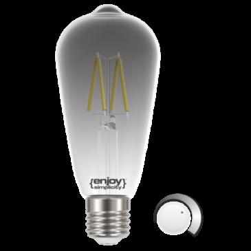 LED SMOKY FILLAMENT DIM ST64 4.5W E27 4000k 250lm (EL822702)