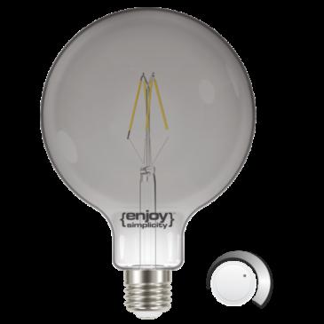LED SMOKY FILLAMENT DIM G125 4.5W E27 4000k 250lm (EL822706)