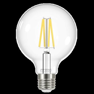 LED FILLAMENT CLEAR G125 8W E27 6500k 1060m (EL822865)
