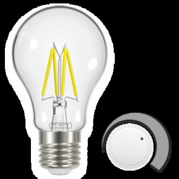 LED FILLAMENT CLEAR DIM A60 9W E27 6500k 1060lm (EL822909)