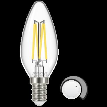 LED FILLAMENT CLEAR DIM B35 4.5W E14 6500k 450lm (EL822912)
