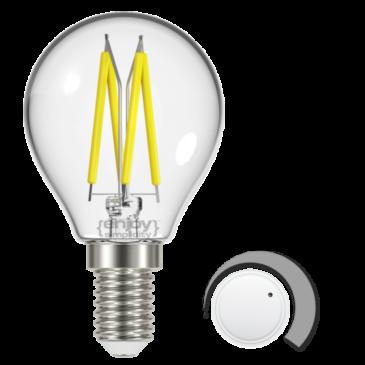 LED FILLAMENT CLEAR DIM P45 4.8W E14 6500k 450lm (EL822915)