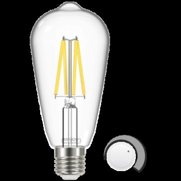 LED FILLAMENT CLEAR DIM ST64 4.8W E27 6500k 470lm (EL822921)
