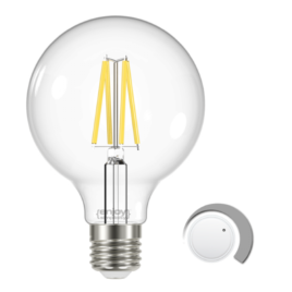 LED FILLAMENT CLEAR DIM G95 7.5W E27 6500k 806lm (EL822924)