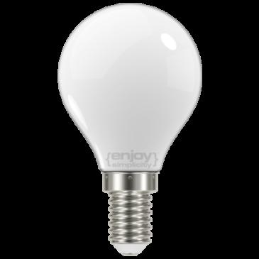 LED FILLAMENT MILKY P45 4W E14 6500k 450lm (EL824456)