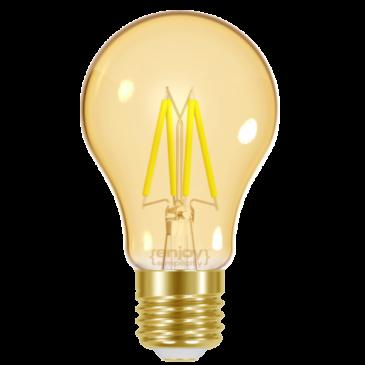 LED FILLAMENT AMBER A60 4W E27 <2200k 320lm (EL825601)