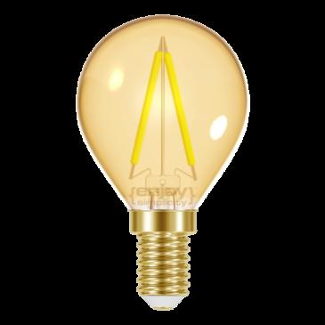 LED FILLAMENT AMBER P45 2.3W E14 <2200k 180lm (EL825602)