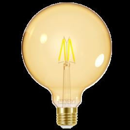 LED FILLAMENT AMBER G95 4W E27 <2200k 320lm (EL825604)