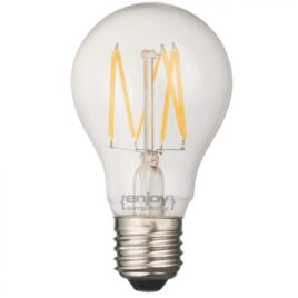 LED FILLAMENT CLEAR A60-6 6W E27 2700k 700lm (EL827005)